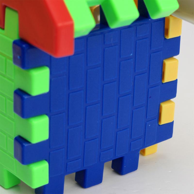 Baby Kids Children House Building Blocks Educational Learning Construction Developmental Toy Set Brain Game 5