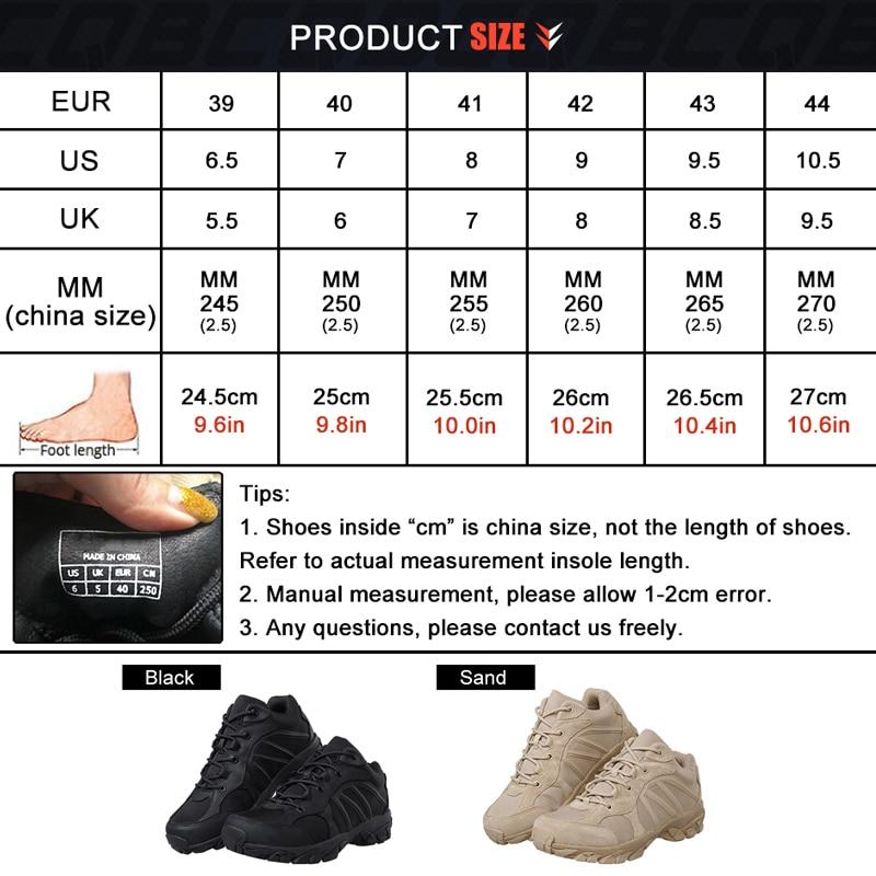 CQB Winter Panther Cross-Country Τακτικές υπαίθριες - Πάνινα παπούτσια - Φωτογραφία 6