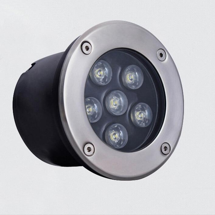Free Shipping 3w/5w/6w/7w/9w/12w/18w Outdoor Underground Lamp Waterproof Ip65 Led Spot Floor Garden Yard Led Underground Light Lights & Lighting