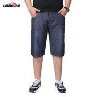LiSENBAO Men S Short Jeans 2017 New Summer Large Size 29 40 Men Jeans Casual Denim