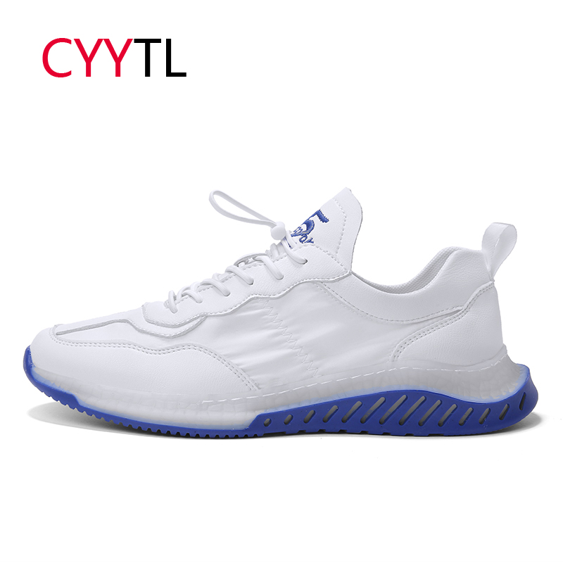 CYYTL 2019 Men Breathable Shoes Fashion Sport Casual Sneakers Outdoor Lightweight Walking Footwear Tenis Masculino Zapatillas