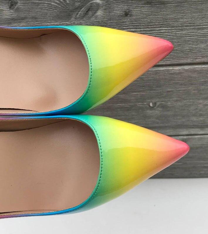 Femme Parti Sandales Femmes Sexy Pour Chaussures Printemps Peu Pompes Pointu Profonds 2019 couleur Picture Nouveau As Cm 12 10 Piste Bout D'été Talons Multi Mince F1WFTqR