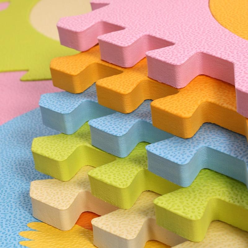 Eva Foam Mat Baby Playing Mat Cartoon Pattern Puzzle Mat Փափուկ - Խաղալիքներ նորածինների համար - Լուսանկար 5