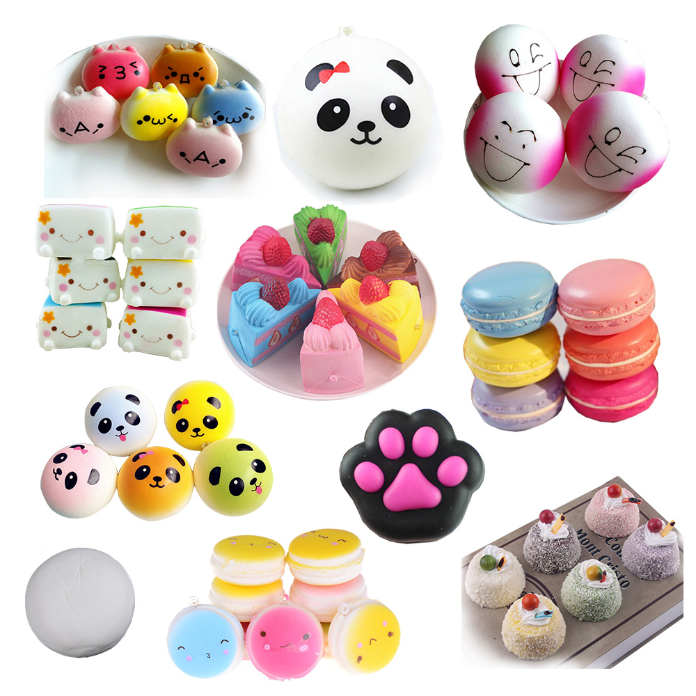 Mobile Phone Accessories Cellphones & Telecommunications Simulation Cat Seal Lazy Cat Phone Straps Slow Rising Soft Press Squeeze Kawaii Bread Cake Kids Toy Phone Accessories