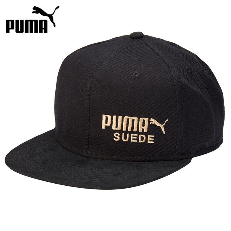 Original New Arrival 2018 PUMA ARCHIVE Suede cap Unisex Golf Sport Caps Sportswear