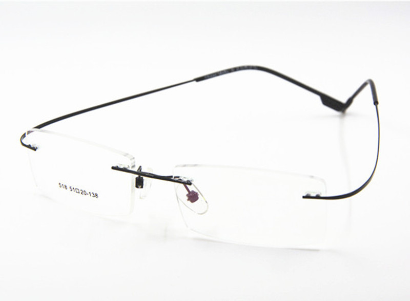 Maloprodaja 9 boja modni okviri za naočale bez okvira / modni - Pribor za odjeću - Foto 2