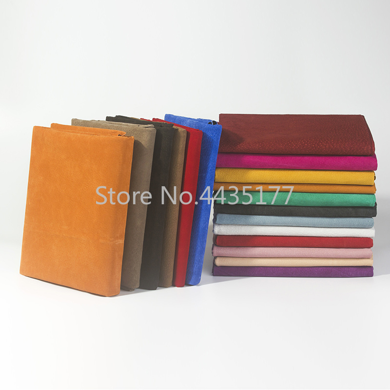 300X200X0.5mm Multi Color Genuine Pig Split Lining Shoes   Suede   Hide Skin   Leather   Material For Leathercraft Sewing Accessories