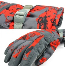 V926 manufacturers selling Ski font b gloves b font winter outdoor waterproof windproof breathable warm font