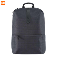 20L Xiaomi Casual Backpack Men Solid Polyester Girls Backpacks Travel Bag Universal Bags College Style 15.6 inch Laptop Bag