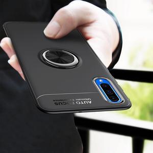 Image 2 - 電話ケース A50 A70 ケース Luxurry 磁気車リングソフトシリコンカバー Funda 用銀河 A30 A40 を 50 ケース Capa