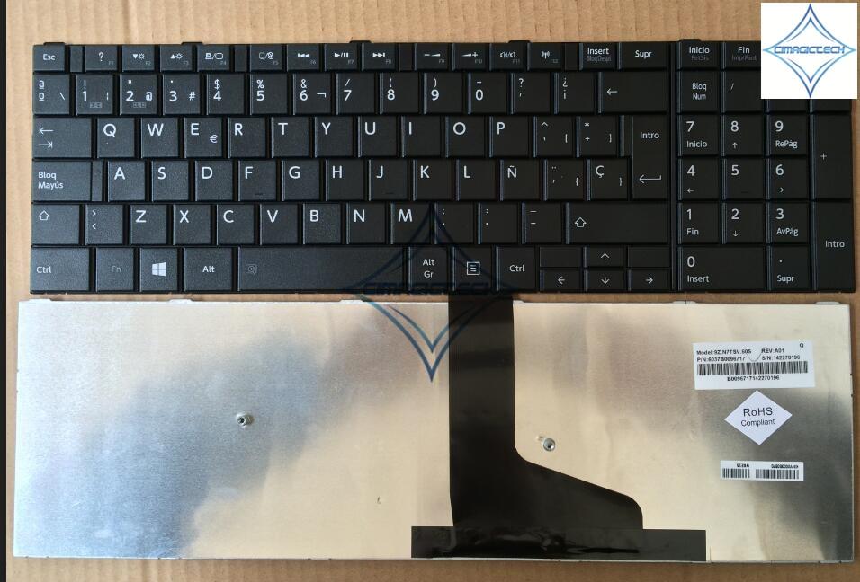 New for Toshiba Satellite L50 L50D L50-A laptop Keyboard