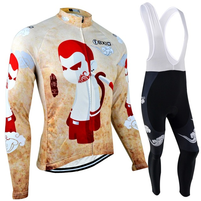 BXIO Invierno Ropa Ciclismo Men Pro Team Bike Clothing Long Sleeve Winter  Thermal Cycling Jerseys Super 8b08575fd
