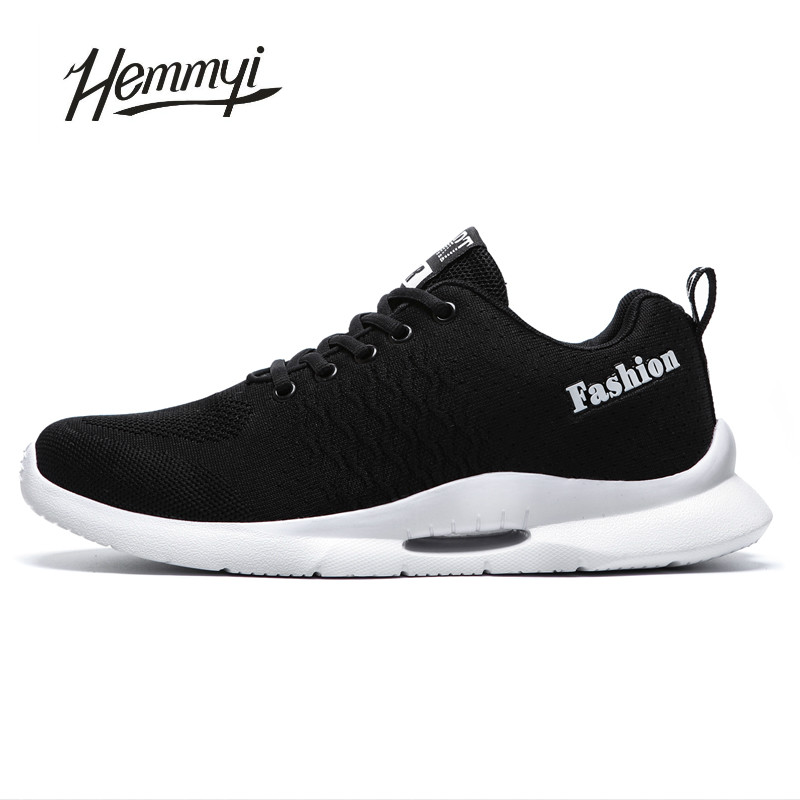 Hemmyi Man Sneakers Shoes Autumn Breathable Sport Shoes Men Lace-up Zapatillas Hombre Deportiva Trainers Footwear цена 2017