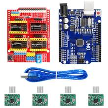V3.0 Engraver CNC Shield+Board+A4988 Stepper Motor Drivers For UNO R3 for Arduino(China)