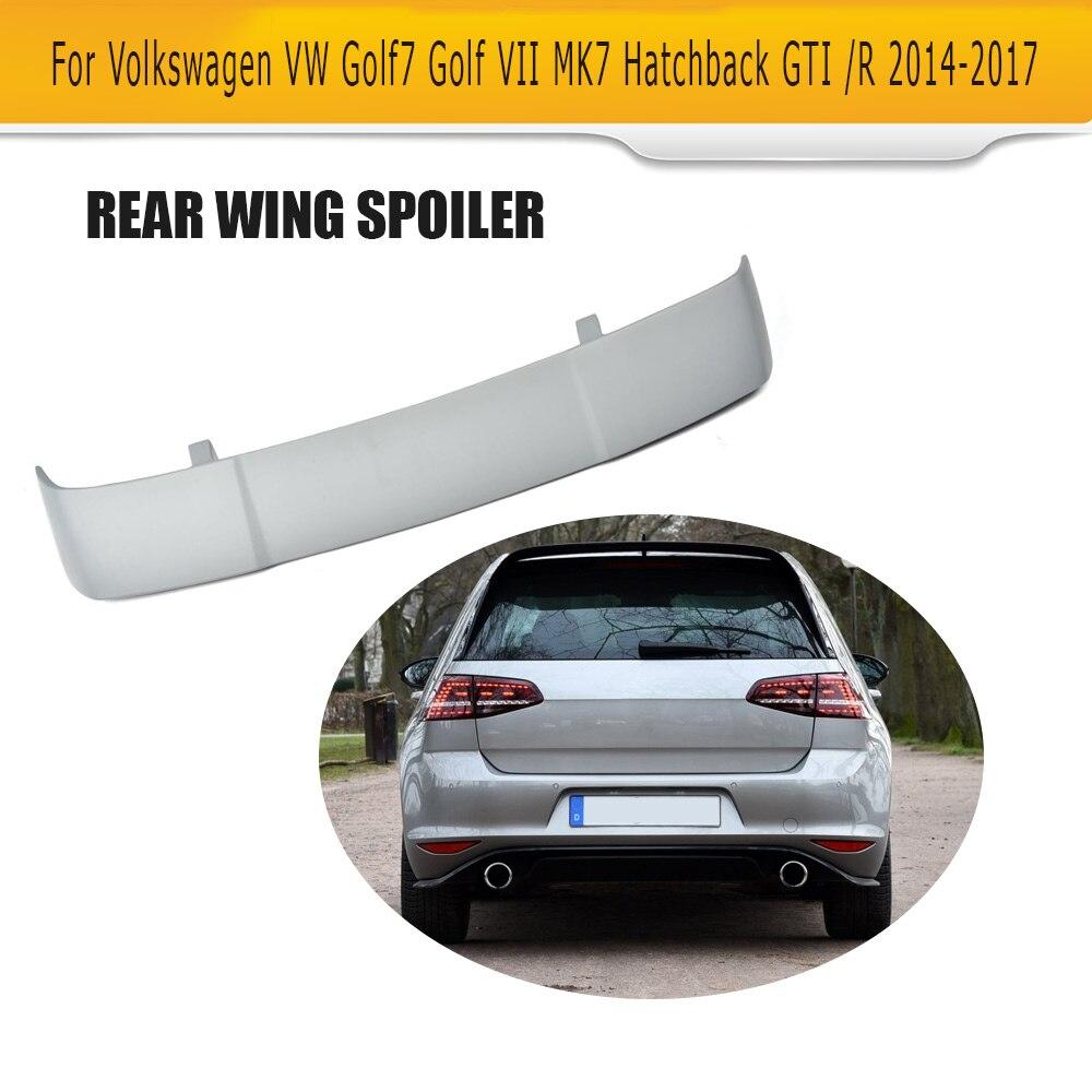 frp rear roof wing spoiler for volkswagen vw golf 7 mk7. Black Bedroom Furniture Sets. Home Design Ideas