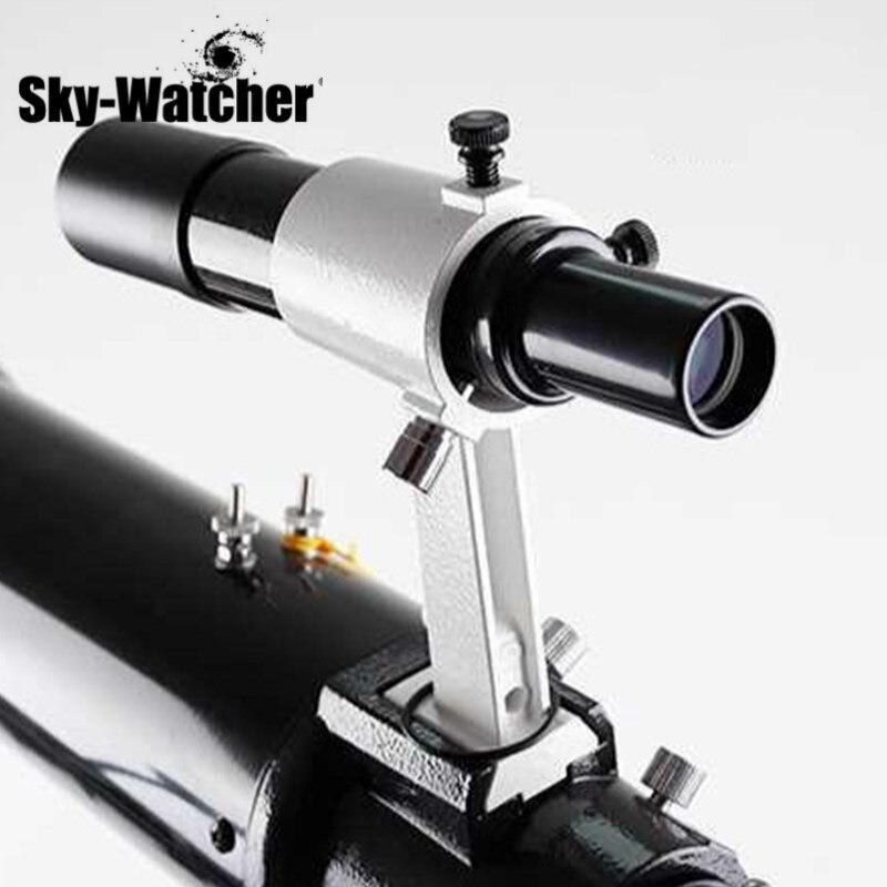 Skywatcher 6x30 viseur métallique portée optique multi-enduit viseur pour télescope astronomique monoculaire FinderScope Teleskop