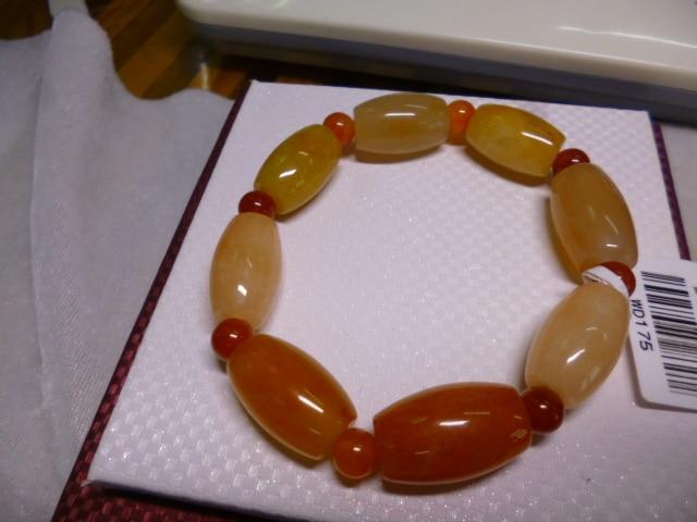 53g (265 CT) pulsera natural del Jade de jinsi Xinjiang China WD175 696b87e86a48