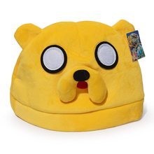Adventure Time Finn And Jake Plush Hat Cosplay Toys For Adult Gifts Free Shipping