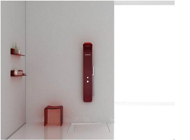 Pareti Per Doccia In Acrilico : Piatto doccia rettangolare in acrilico con