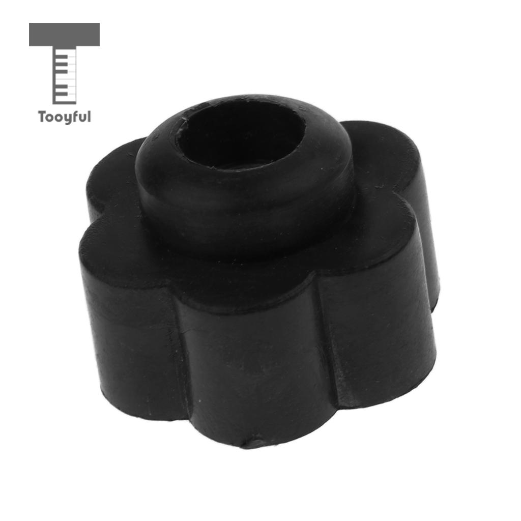 Tooyful Plastic Quick Release Cymbal Tilter Stand Wing Nut for Drummer Percussion Accessory Flower Pattern Black