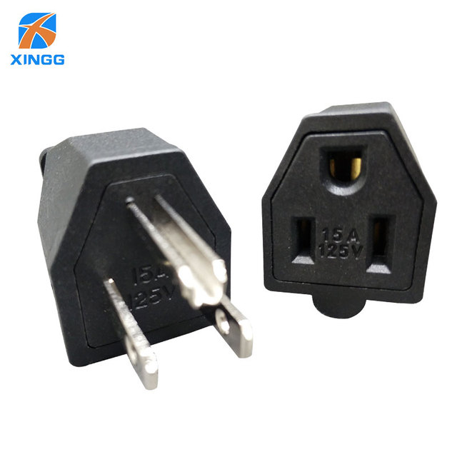 XINGG US AC Power Industrial Plug 15A 125V Male and Female Removable ...