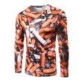 HD-DST 2017 дизайн новый мужской моды 3 D печать футболка повседневная рубашка slim fit топы и тис