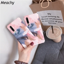 Meachy Colors Painting Phone Cases For Huawei P30 P20 Pro Lite Honor 10 9 8X Mate 20 Case Fashion Scrawl Hard PC Back Cover