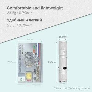 Image 2 - Lumintop Tool AA 2.0 Mini LED flashlight EDC keychain flashlight 3 colors 650 Lumens 127 meters 5 mode 14500/AA flashlight