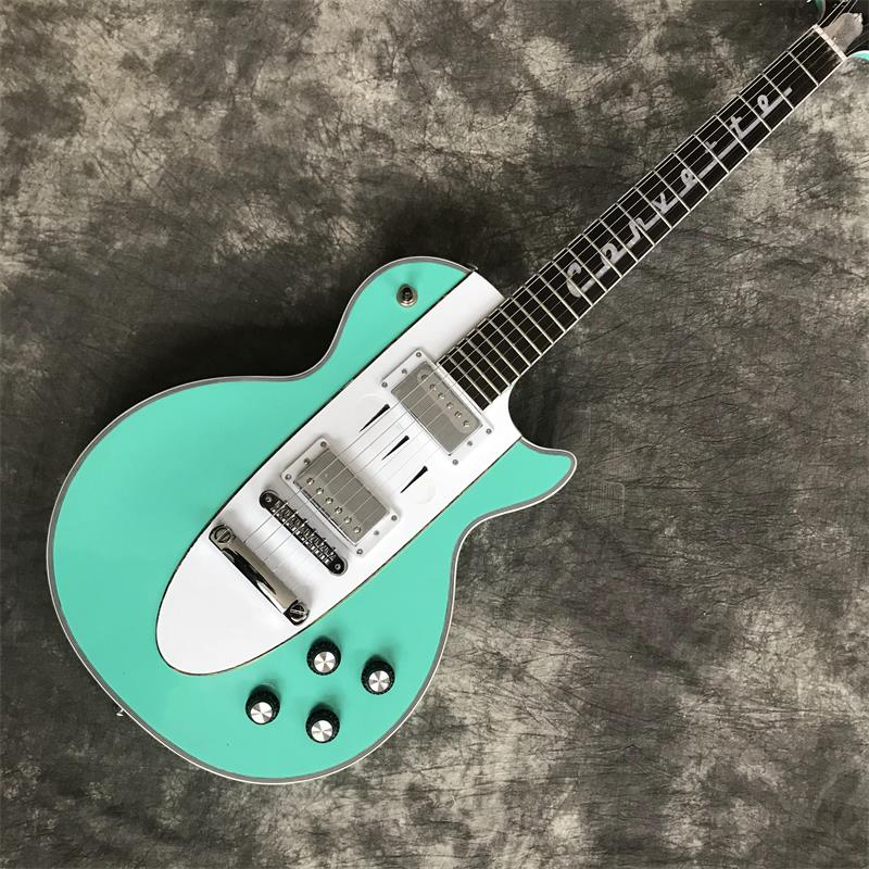 New Manual customization 1960 Corvette electric guitar with Tune o Matic bridge, Any color can be customized, free shipping