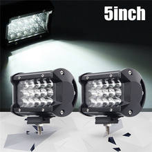 2PCS Car Foggy Lights IP67 Waterproof For 12V 24V Vehicles Auto Back Light LED Driving Work Light White LED Chips Spotlight(China)