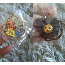 Harri Potter figuras de acción llavero colgante accesorio Cool Gryffindor Hufflepuff Ravenclaw Slytherin llavero colección regalo