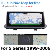 hd מסך אנדרואיד 8.0 עד DVD לרכב Navi Player עבור BMW 5 Series M5 X5 1999 ~ 2006 מסך אודיו סטריאו HD Touch הכל באחד (5)