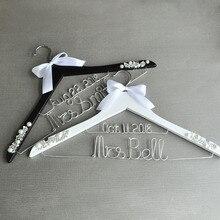 Персонализированная вешалка для свадебного платья, вешалка для свадебного платья, вешалка для невесты, подарок для невесты, подарок для свадебного душа на заказ