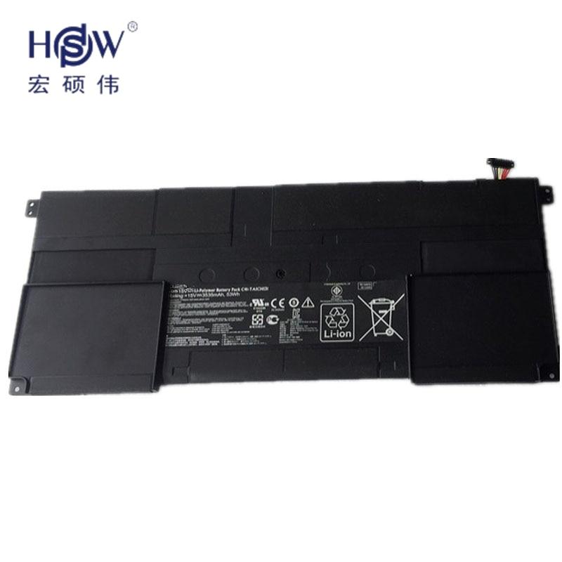 HSW 15V 53WH Genuine New C41-TAICHI31 Laptop Battery for ASUS Ultrabook TAICHI31 TAICHI 31 C41-TAICHI31bateria akku bosch phg 630 dce 060329c708