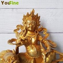 Bronze Buddha Statue Tibetan Pure Copper Casting