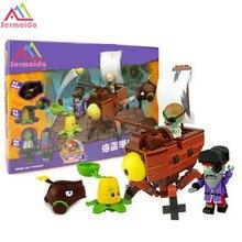 2017 New Plants Vs Zombies Struck Game Building Blocks Toys For Children Gift B12