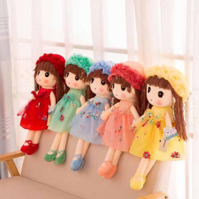 Горячая Распродажа мягкие куклы плюшевые Фил плюшевые многоразовые свадебные Тряпичные куклы Симпатичная модель пота для девочек детей по...