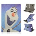 7 inch Universal Tablet Elsa Cartoon Case PU Leather Case Cover For LG G PAD 7.0 V400 Tablet