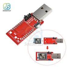 CH340 CH340G USB To ESP8266 ESP-07 ESP07 Serial WiFi Adapter Transceiver Module for Arduino 50pcs ch340g ch340 sop 16 new original