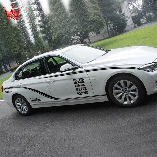 The Whole Car Car Styling Wrc Car Sticker Racing Sport Car Stickers