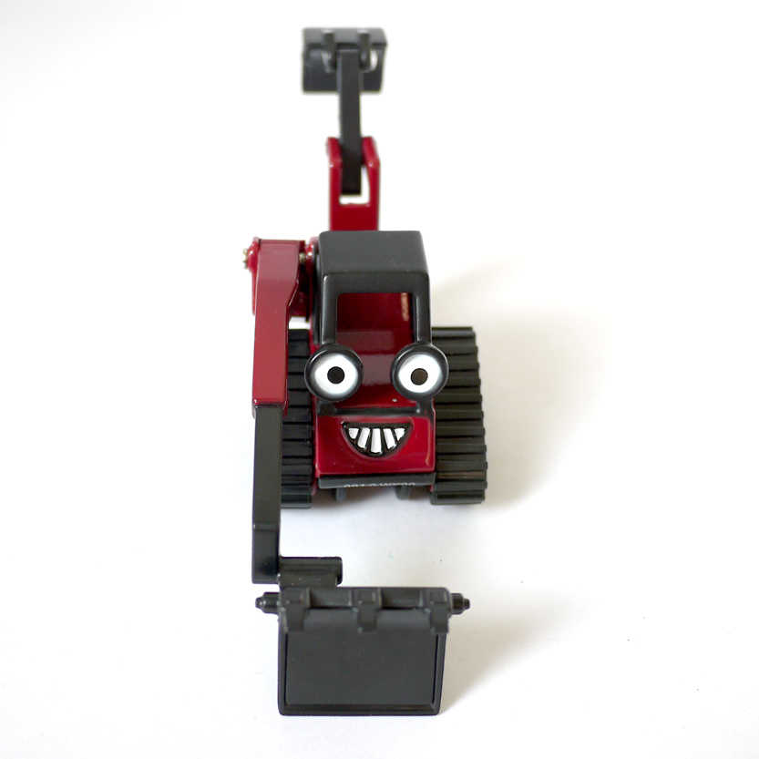D921 무료 배송 뜨거운 판매 어린이 장난감 밥 빌더 엔지니어 합금 장난감 자동차 트럭 모델 선물 (베니)