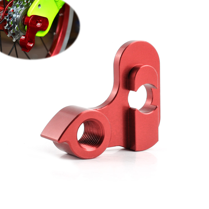 Foldable Bicycle Rear Derailleur Modified Hanger Bike Cycling Rear Derailleur Tail Hook Hanger Aluminum Alloy Bicycle Accessorie designer collection magnetic foldable purse hook hanger with hidden mirror red flowers