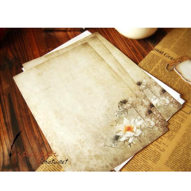 письмо писчая бумага
