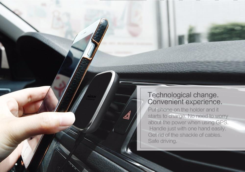 Автомобіль Nillkin QI Бездротовий - Аксесуари та запчастини для мобільних телефонів - фото 3