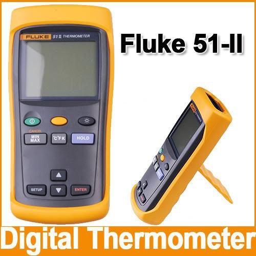 Fluke 51-II Single Input Digital Thermometer 51-2