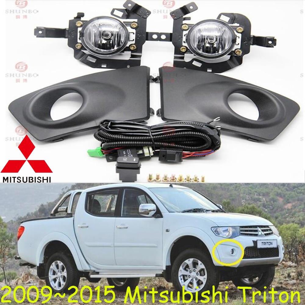 car-styling,Triton halogen light,2009~2014/2015~2017,Free ship!2pcs/set,Triton fog light;car-covers,Triton headlight,Triton triton эко 60 белая
