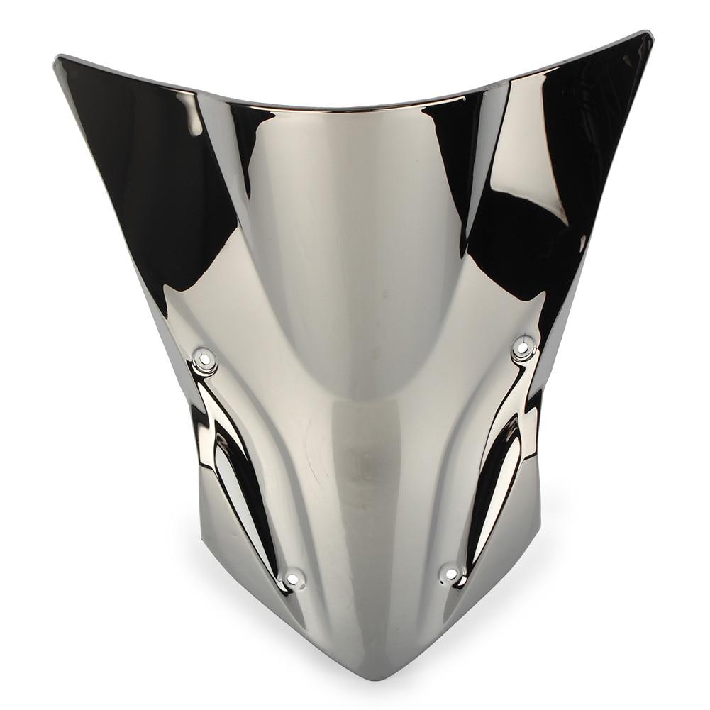 Z900 ветрозащитное ветровое стекло для Kawasaki Z 900 17 18 аксессуары для мотоциклов ABS пластик - Цвет: Серебристый
