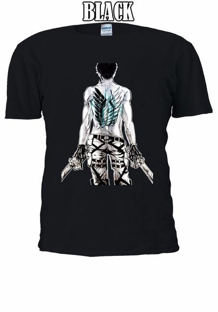 dd9c401a Attack On Titan Wings Levi Symbol T-shirt Vest Men Women Unisex 2499 Free  shipping Harajuku Tops t shirt Fashion Classic Unique