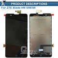 Good Quality For ZTE Blade HN V993W LCD Display Touch Screen Panel assembly free tools replacement