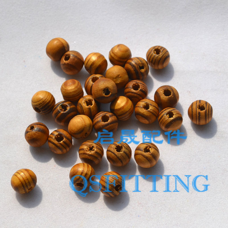 supply DIY fashion jewerly accessory,10MM Round shape wood beads,Bracelet accessory,Coffee colors